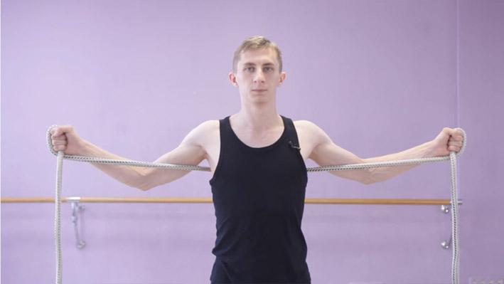 Изометрическое упражнение 3