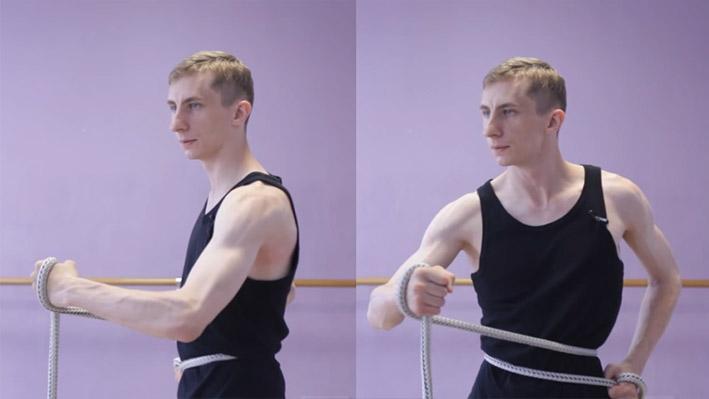 Изометрическое упражнение 4