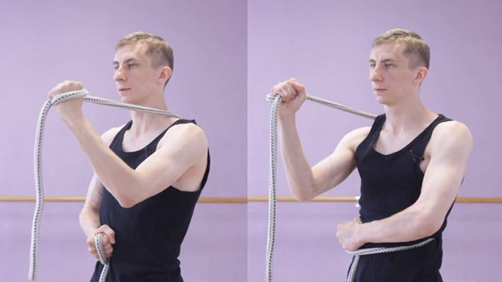 Изометрическое упражнение 5