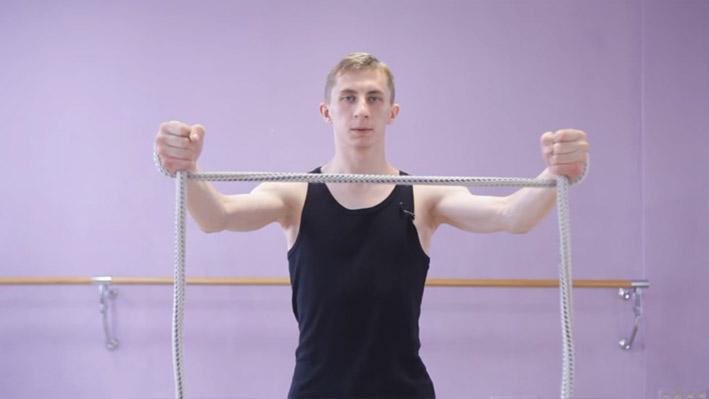 Изометрическое упражнение 6