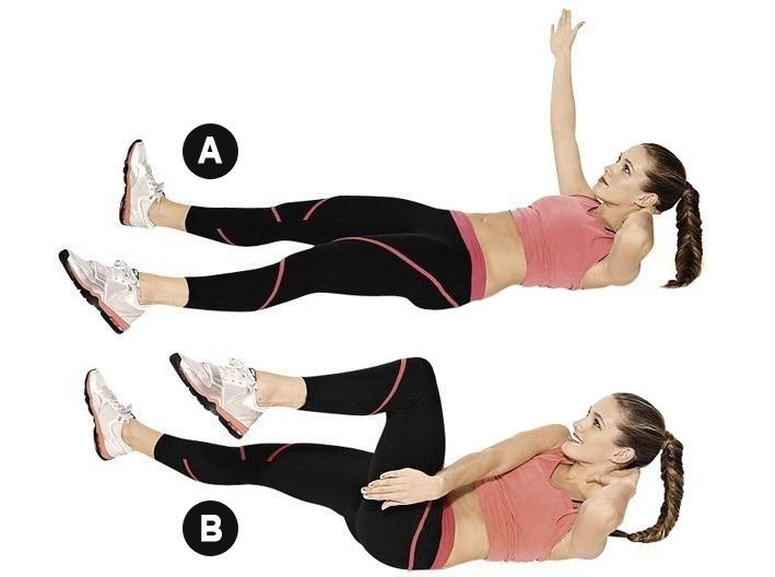 Гимнастика Для Похудения Живот Талий. 10 лучших упражнений для плоского живота с высокой эффективностью