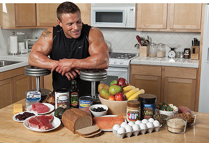 Диета и питание для набора мышечной массы и силы