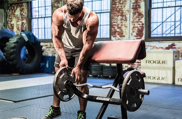 Рабочий вес для роста мышц