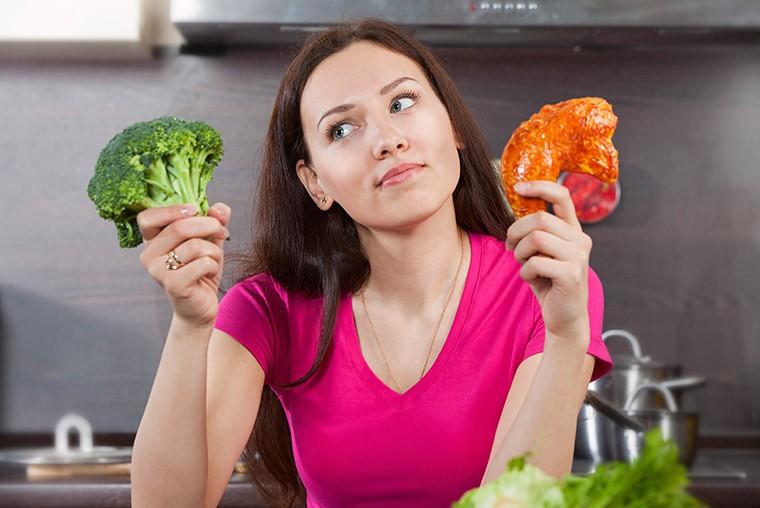 Раздельное питание при занятиях спортом