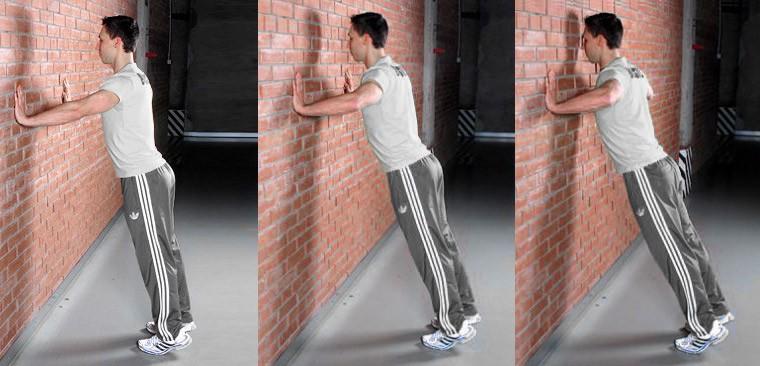 Отжимания от стены