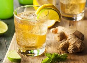 Энергетический лимонно-лаймовый спортивный напиток