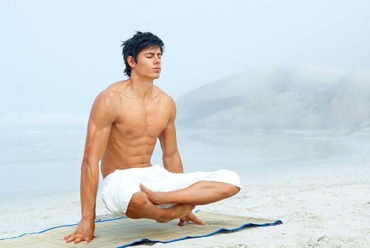 Комплекс йоги для мужчин