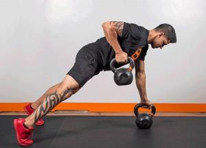 Комплекс упражнений с гирями