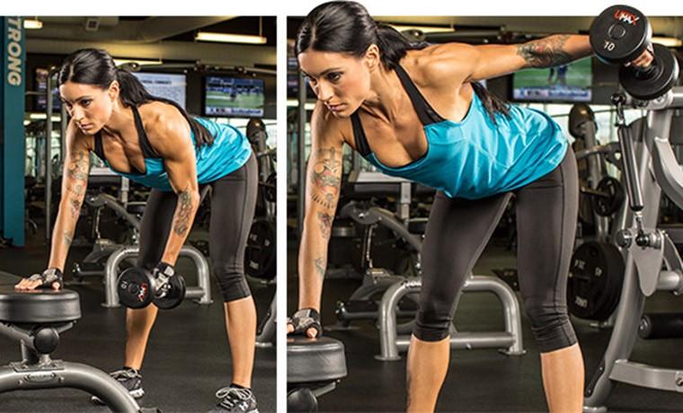 Лучшие упражнения для задних дельт