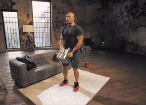 Комплекс упражнений с книгами для домашних тренировок
