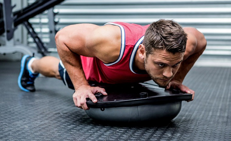 BOSU - фитнес на нестабильной платформе