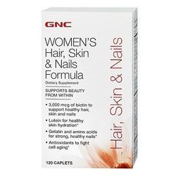 Витаминный комплекс GNC Hair, Skin & Nails Formula (120 капсул)