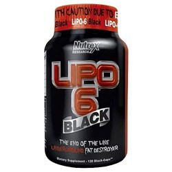Жиросжигатель Nutrex Lipo 6 Black (120 капсул)
