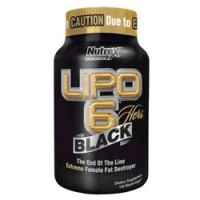 Жиросжигатель Nutrex Lipo 6 Black Hers (120 капсул)