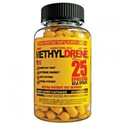 Жиросжигатель Cloma Pharma Methyldrene 25 Ephedra (100 капсул)