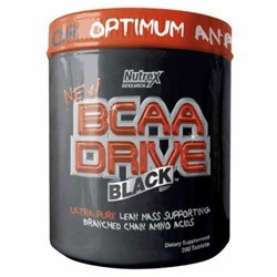Nutrex BCAA Drive Black (200 капсул)