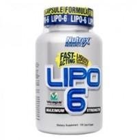 Жиросжигатель Nutrex Lipo 6 (120 капсул)
