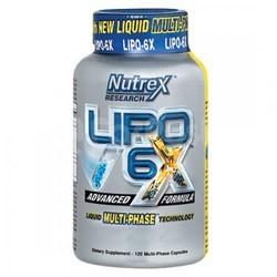 Карнитин Nutrex Lipo 6 Carnitine (120 капсул)