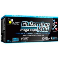 Глютамин OLIMP L-Glutamine Mega Caps 1400® (120 капсул)