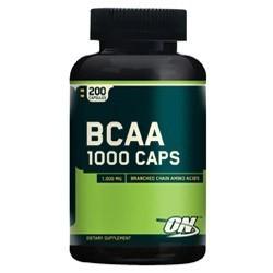 Optimum Nutrition BCAA 1000 (200 капсул)