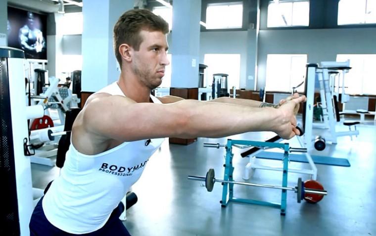 Упражнения для растяжки верхней части спины