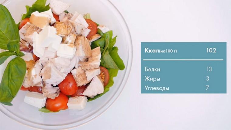 Полезный салат на ужин