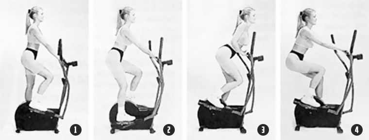 Как тренироваться на эллиптическом тренажере