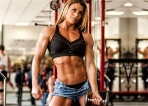 Тренировка верхней части тела для девушек