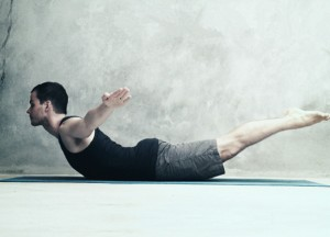 Упражнение «Ныряющий лебедь»
